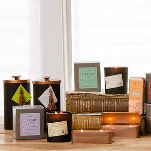 ISO! 16 OZ Paddywax Library Candles